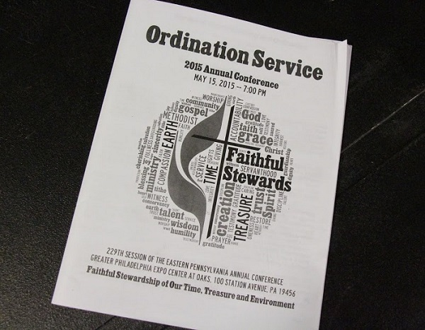 Ordination Service Annual Conference 2015
